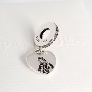 Pandora Our Lady of Gaudalupe Charm Silver Mexico